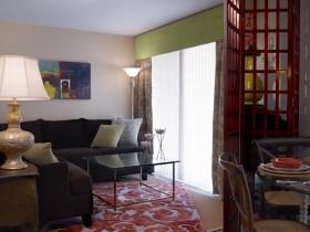 中式古典的小三居客厅装修效果图大全