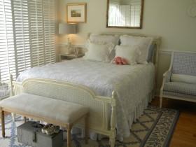 50平米小户型田园风格素雅的卧室窗帘装修效果图大全