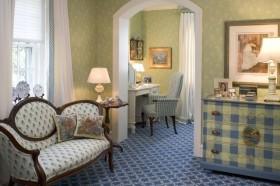 50平米小户型田园风格素雅的客厅装修效果图大全
