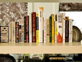 现代动感的复式楼书房装修效果图大全2012图片