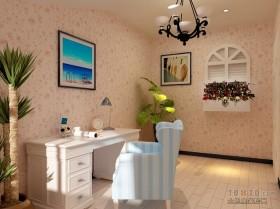 天富家园地中海风格书房装修效果图大全2012图片