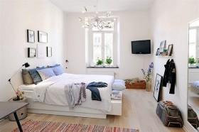 90平单身公寓温馨卧室装修效果图大全