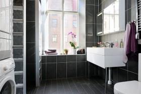 90平单身公寓厕所装修效果图