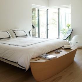 70平小户型自然优雅的卧室飘窗装修效果图大全