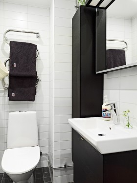 30平方米小公寓 厕所装修效果图