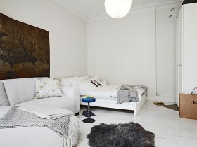 30平方米小公寓 客厅装修效果图