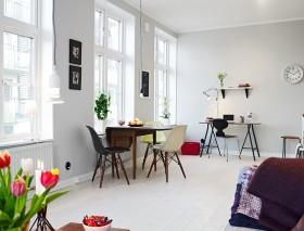 38平方米单身公寓餐厅装修效果图大全