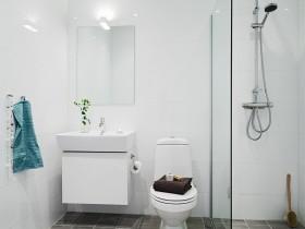 39平方米单身公寓厕所装修效果图大全2012图片
