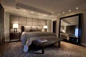 160平欧式现代风格卧室装修效果图大全