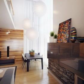 17万打造浪漫现代风格二居客厅窗帘装修效果图大全2012图片