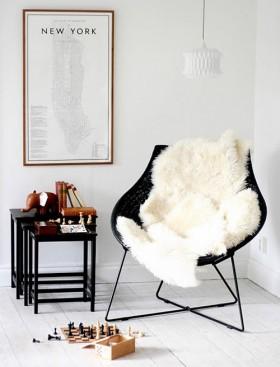 90平小户型客厅一角设计效果图大全 宁静温馨