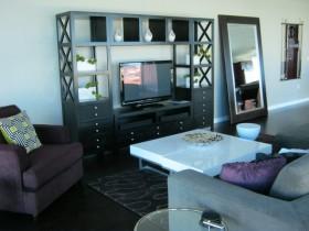 12万打造的舒适现代风格客厅电视背景墙装修效果图大全