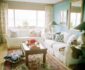 60平米小户型客厅装修效果图欣赏