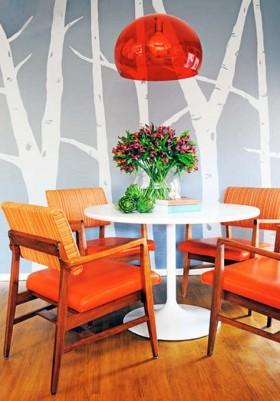 小型餐厅背景墙装修效果图