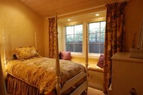 15万打造原木田园风格卧室窗帘装修效果图大全