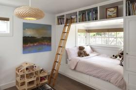 两房一厅简约清新的儿童房装修效果图大全
