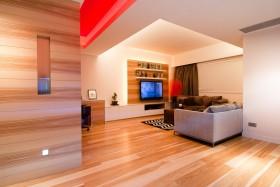 80平米小户型客厅电视背景墙装修效果图大全