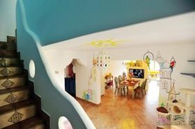 地中海别墅楼梯扶手装修设计