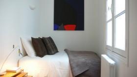 40平米小户型简约风格卧室装修效果图