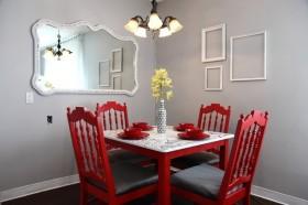 60平米小户型婚房装修餐厅效果图