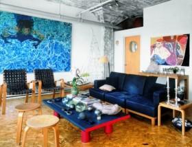 两室一厅蓝色倾心