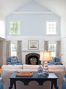 170万打造豪华地中海风格客厅背景墙装修效果图大全