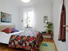 70平米现代小户型浪漫的卧室装修效果图