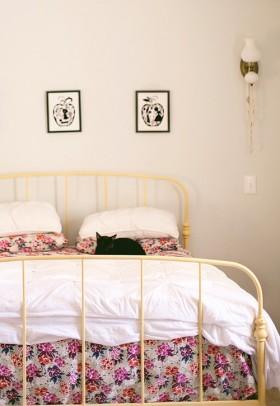 9万打造田园美式风格小户型卧室装修效果图大全