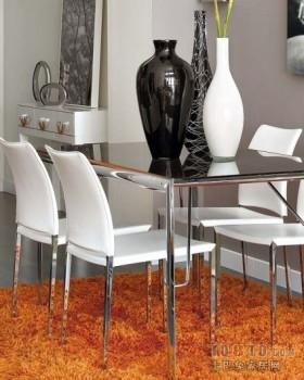 复式创意现代餐厅装修效果图大全2012