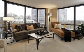 16万打造欧式风格小户型客厅装修效果图