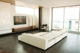2室2厅简约风格客厅电视背景墙装修效果图