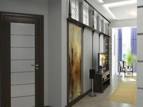 中惠香樟绿洲走廊地中海装修设计