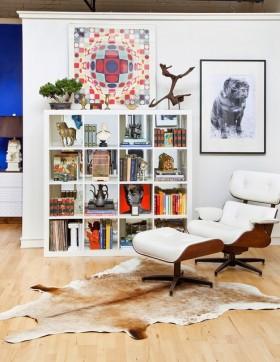 地中海风格书房装修图片