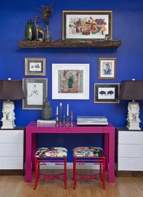 保利红珊瑚家装地中海风格背景墙装修效果图大全