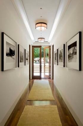 三室两厅美式浪漫的过道装修效果图大全