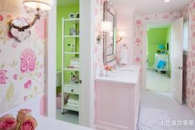 小户型卫生间壁纸装修效果图