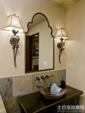 卫生间欧式壁灯图片