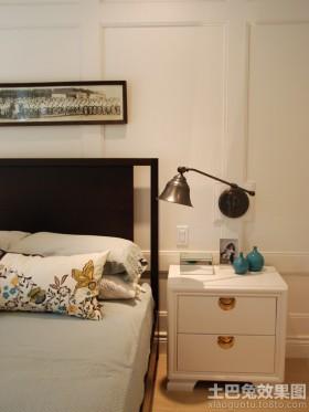 欧式简约卧室折叠壁灯效果图