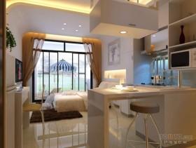 单身公寓简约餐厅吊顶装修效果图大全2012图片