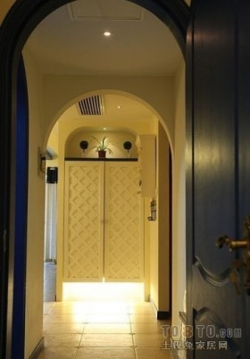 地中海风格室内过道装修效果图大全2012图片