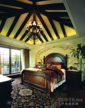万科松山湖美式风格卧室装修效果图大全2012图片