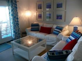 8萬打造清新地中海風格小戶型客廳裝修效果圖大全