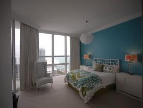 8万打造清新地中海风格小户型卧室装修效果图大全