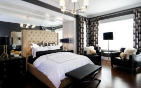 17万打造温馨奢华欧式风格二居卧室吊顶装修效果图大全
