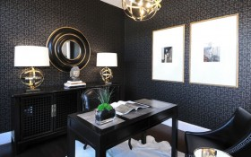 17万打造温馨奢华欧式风格二居书房装修效果图大全