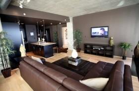 17万打造温馨奢华地中海风格二居客厅电视背景墙装修效果图大全