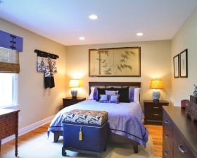 15万打造清新地中海风格小户型卧室装修效果图大全