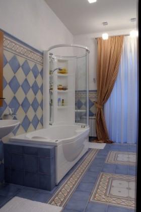 15万打造温馨地中海风格卫生间浴缸装修效果图大全
