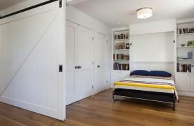 105平米二居室简约风格卧室装修效果图大全