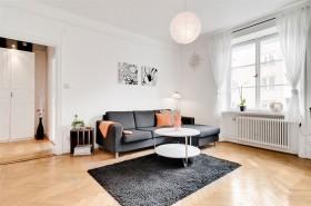 44平方米小户型简约风格客厅装修效果图大全